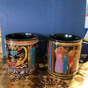 Laurel Burch mugs